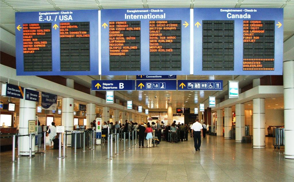 Image result for 特鲁多机场