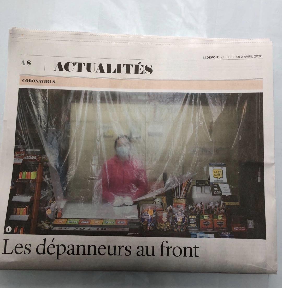 记者手记:疫情下的加拿大(4月2日)-口罩大战