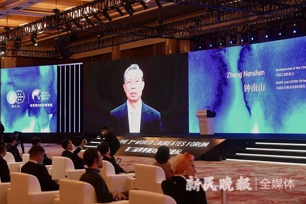 世界顶尖科学家论坛 | 钟南山:科学家成偶像 是为了消除青年人对偶像的盲从