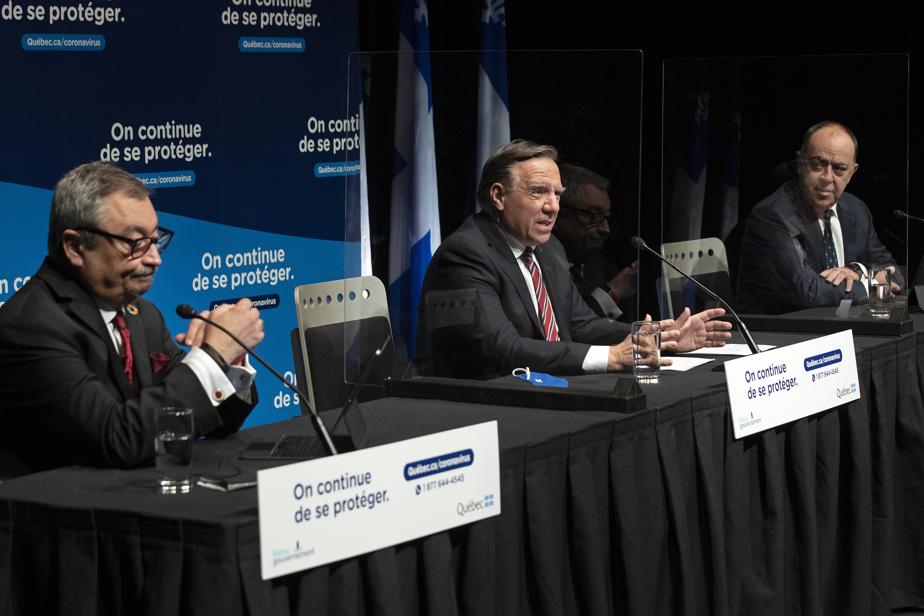 COVID-19 au Québec Le gouvernement Legault fait le point)