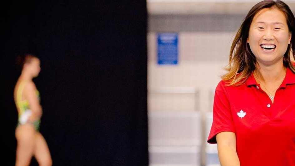 Meng Chen, entraîneuse-chef, équipe nationale de Natation Artistique Canada (2012-2017)