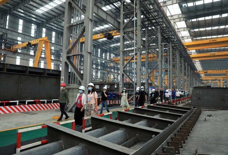 """中国五冶建筑科技产业园:打造装配式建筑""""智慧工厂"""""""