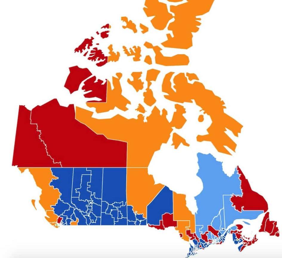 Non, le Canada n'est pas divisé   Le Journal de Québec