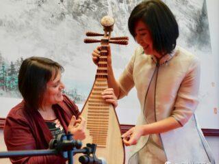 音乐美食齐登场,中国功夫来助阵——中国驻加拿大使馆举办文化沙龙
