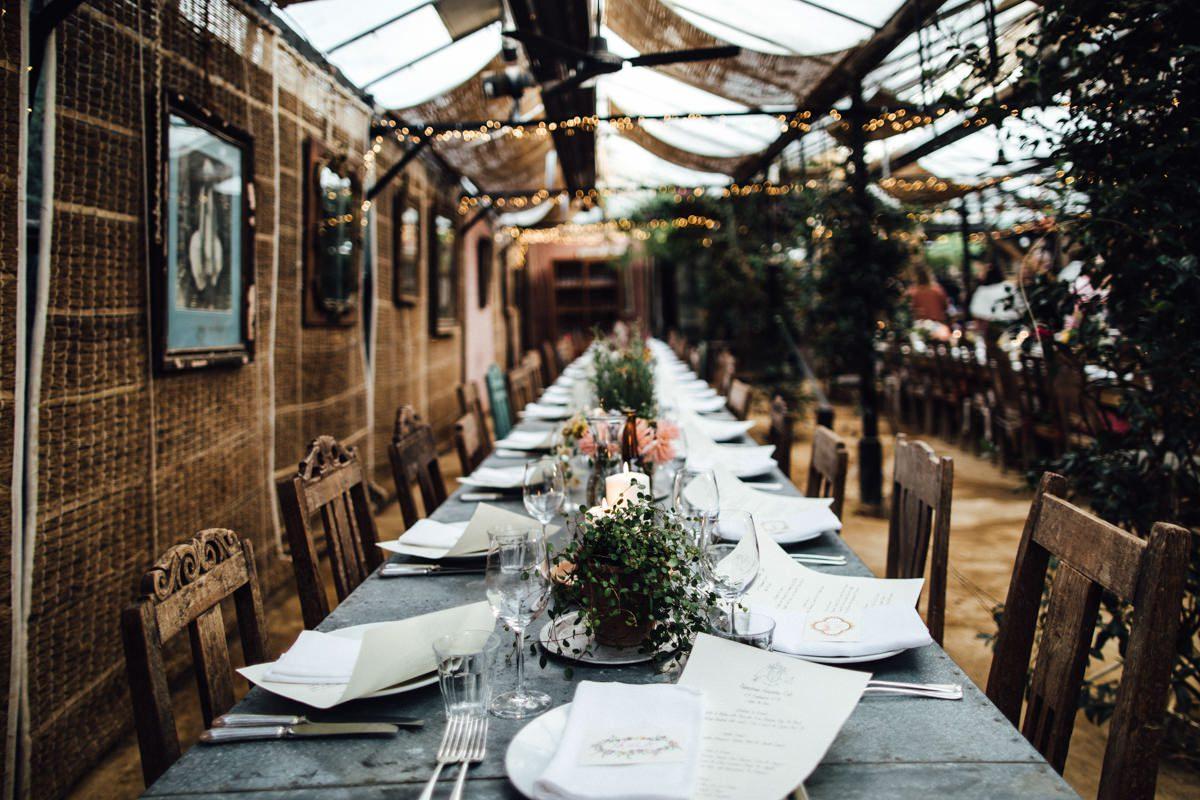 Petersham Nurseries wedding photography | West London wedding venue