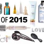 Produse preferate din 2015 – Ingrijirea parului
