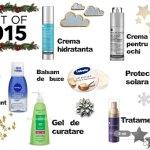 Produse preferate din 2015 – Ingrijirea tenului