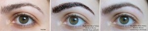 Maybelline brow tattoo rezultat
