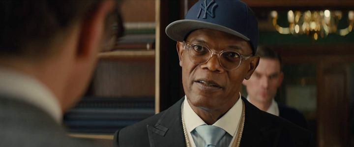 Samuel L. Jackson dans Kingsman: Services Secrets