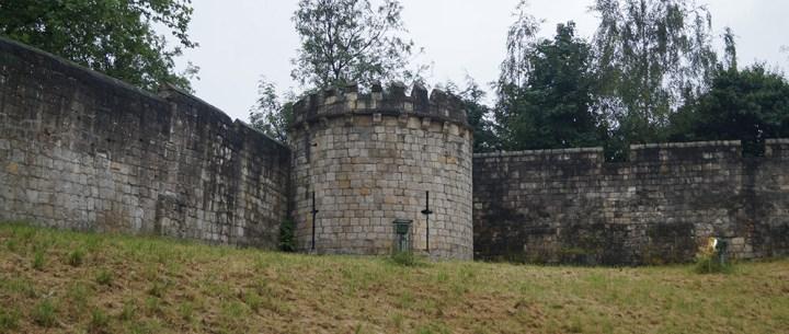 Photo de la forteresse d'York.
