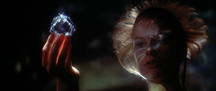 Sally Ann Newton dans le film Zardoz