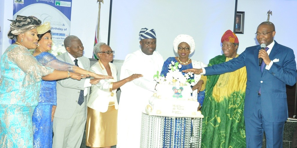 Photos From Governor Of Lagos, Akinwunmi Ambode's 53rd Birthday Party