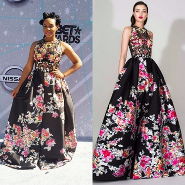 Yemi Alade Attends The 2016 BET Awards In A N2.5M Dress By Lebanese Fashion Designer Zuhair Murad