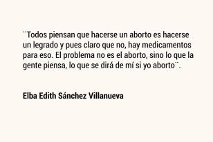 Elba Edith Sánchez Villanueva