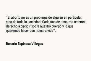 Rosario Espinosa Villegas