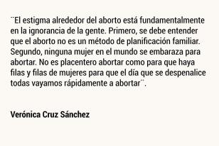 Verónica Cruz Sánchez