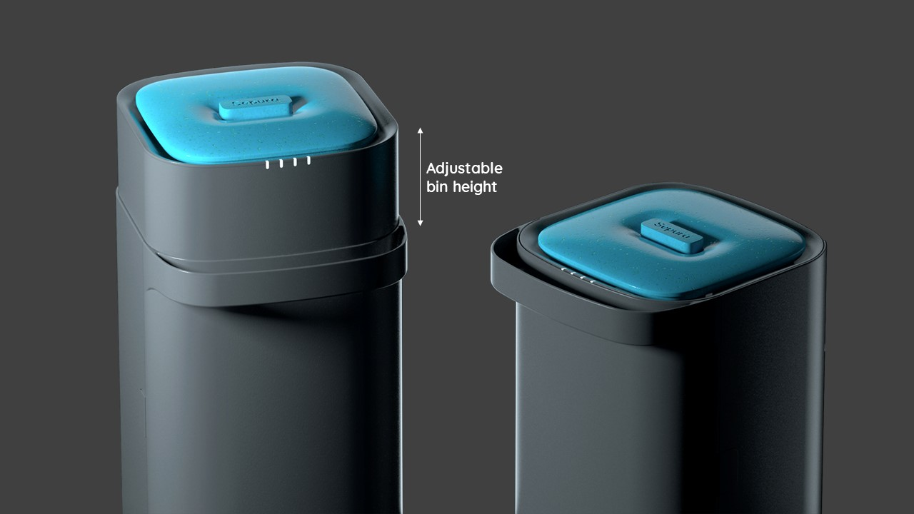 Sepura-adjustable-bin