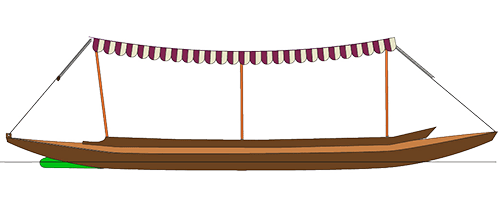 Aviron périssoire baladeuse Prosper
