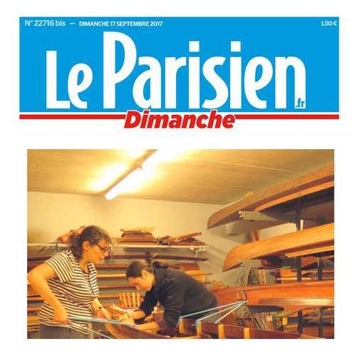 Lire l'article en ligne Le parisien paru le 17 septembre 2017