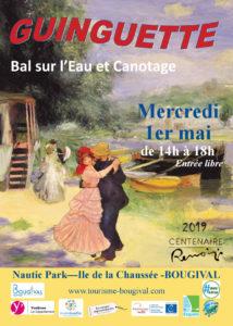 Affiche de la guinguette du 1er mai 2019 à Bougival_poses_sequana-chatou