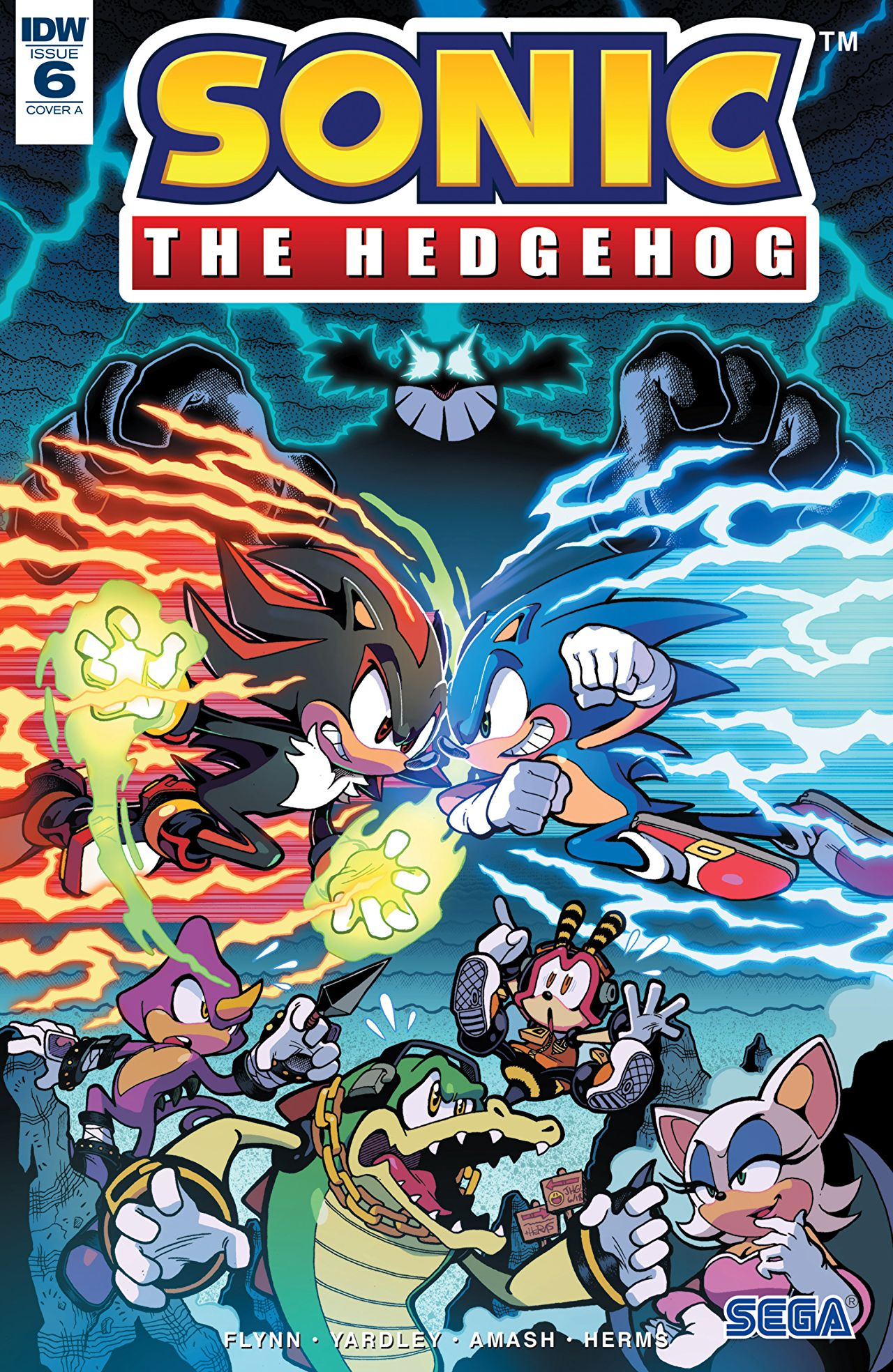 Comic Review Sonic The Hedgehog 6 Sequential Planet