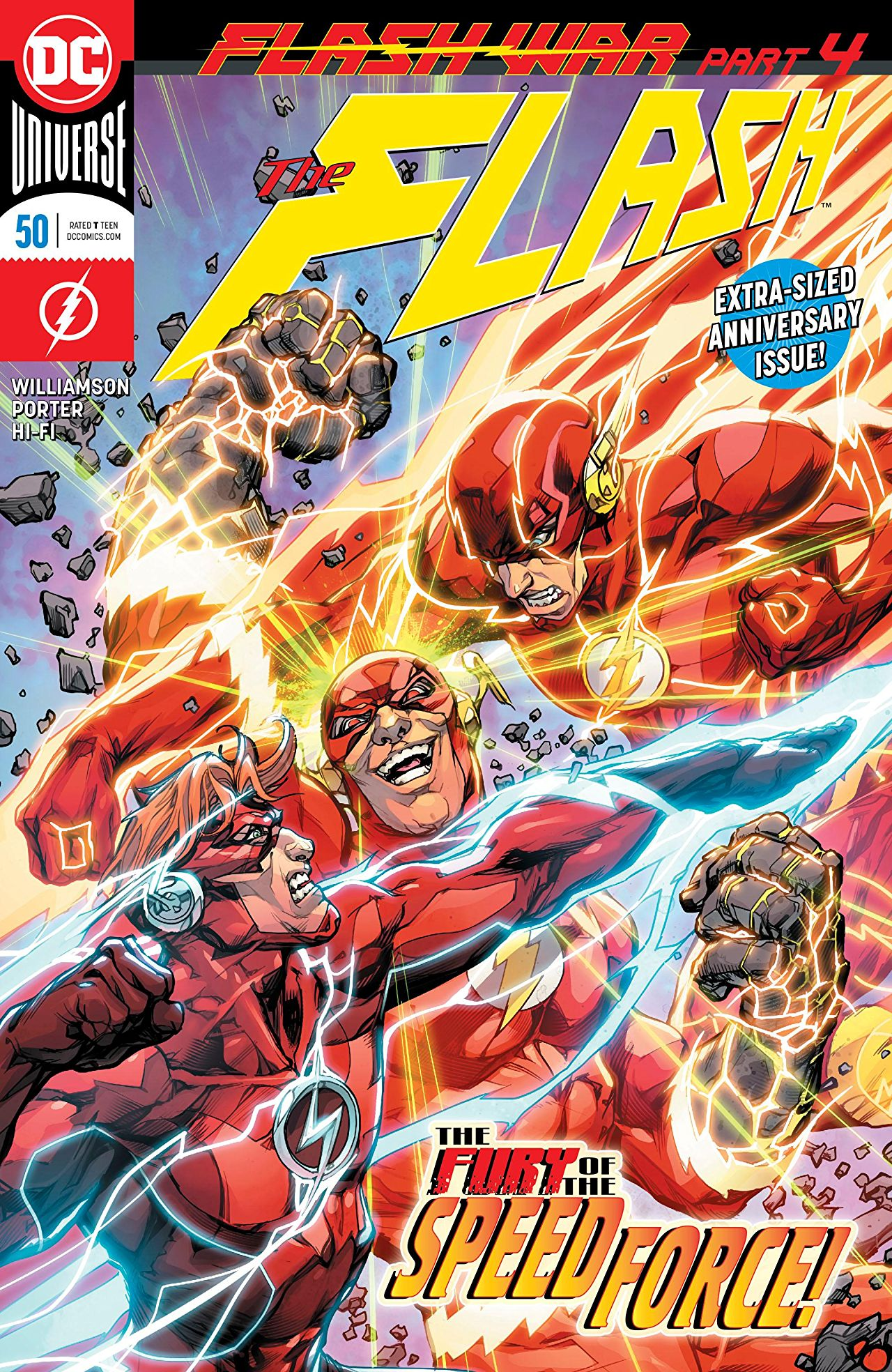 deb456c7699 Comic Review: The Flash #50 - Sequential Planet