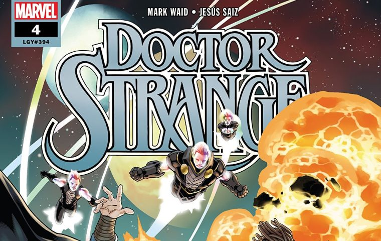 doctor strange #4 2018 comic ile ilgili görsel sonucu