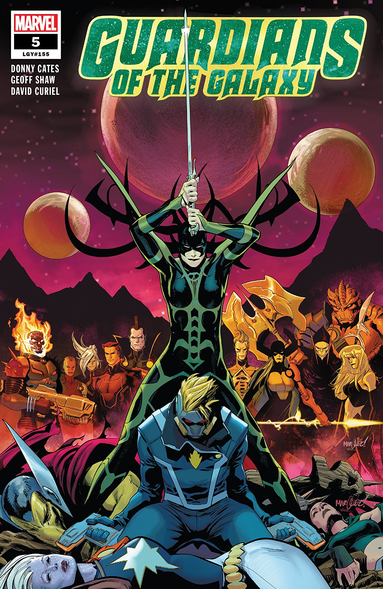 Comic Review: Guardians of the Galaxy (2019-) #5 - Sequential Planet