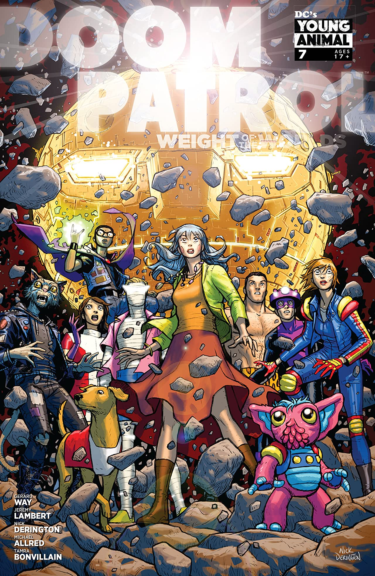 Comic Review Doom Patrol Weight Of The Worlds 7 Sequential Planet