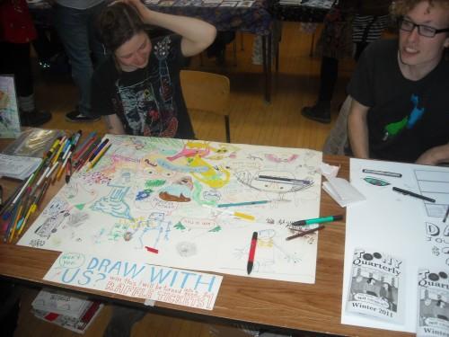 kazoo zine and comic expo guelph 2011
