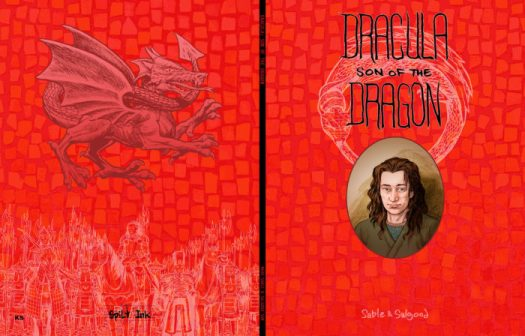 Cover art from Dracula son of the dragon