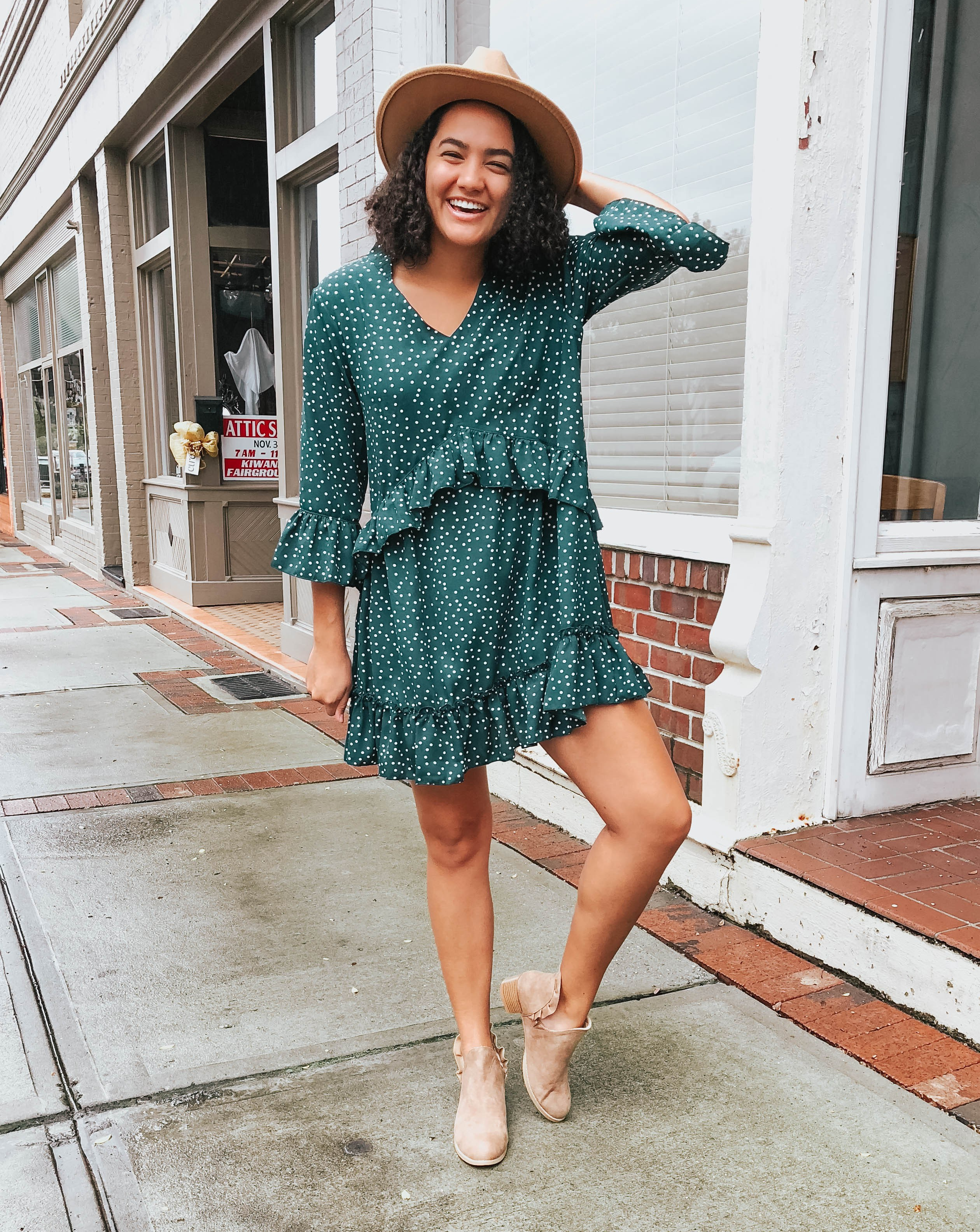 polka-dot-ruffle-dress-amazon-fashion-one