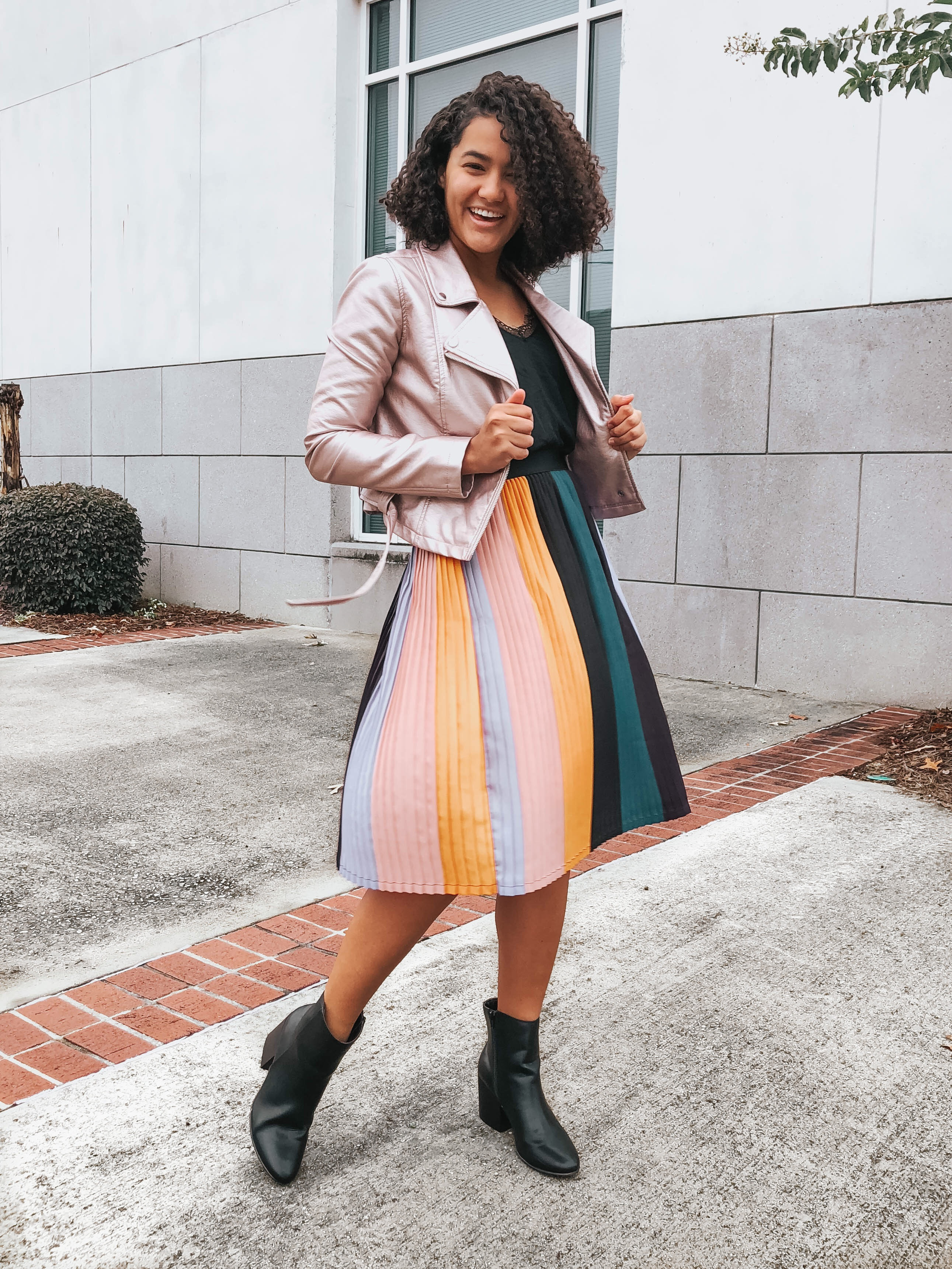 rainbow-pleated-skirt-two-the-perfect-boots-for-every-occasion