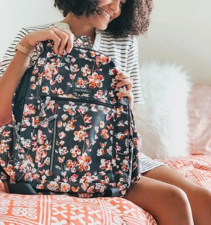 floral-back-pack-vera-bradley-bedroom