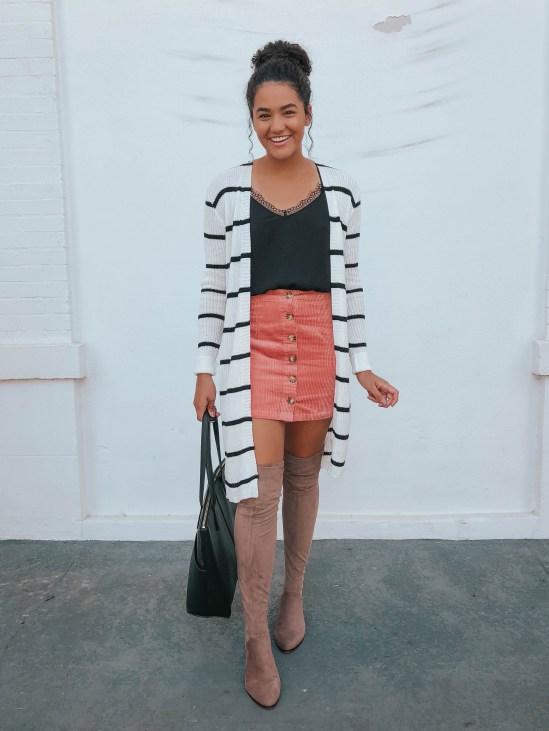 striped-cardigan-otk-boots-twenty-winter-outfit-ideas