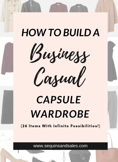 How to Build a Business Casual Capsule Wardrobe