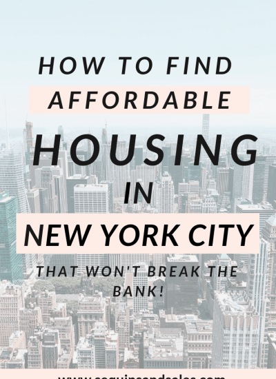 How to Find Affordable Housing in NYC
