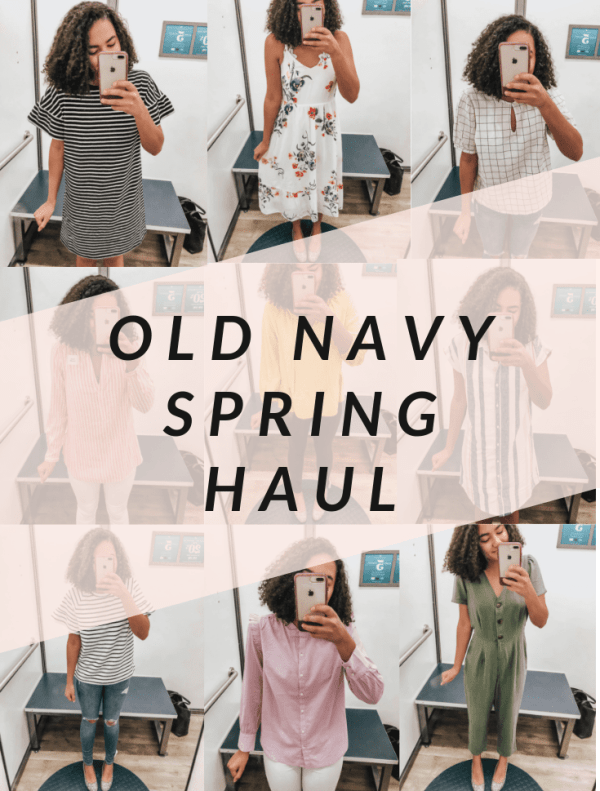 Old Navy Spring Haul Cover Photo