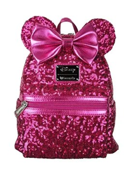 Minnie Mouse Pink Sequin Backpack Disney Finds