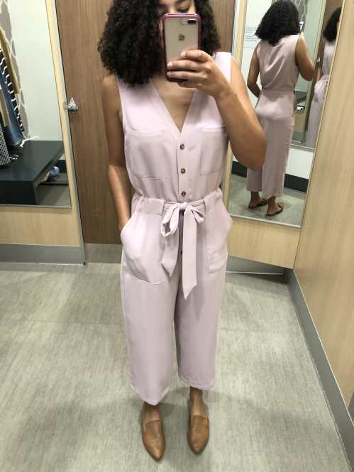 Lilac Jumpsuit Target Try-On Haul
