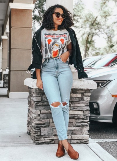 3 Chic Ways to Style Mom Jeans