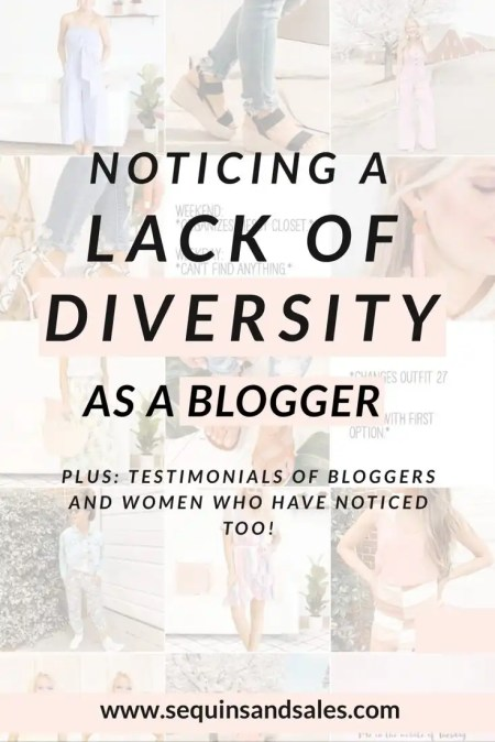 Noticing a Lack of Diversity as a Blogger Cover Photo