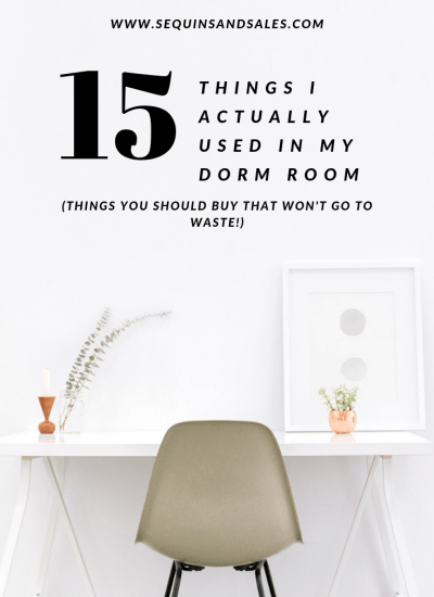 15 Things I Actually Used In My Dorm Room