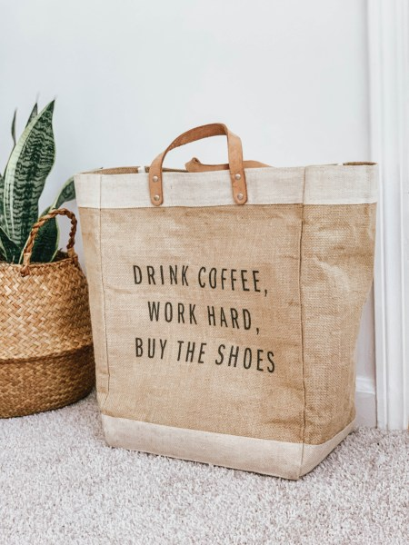 Apolis Reuseable Shopper Tote Bag