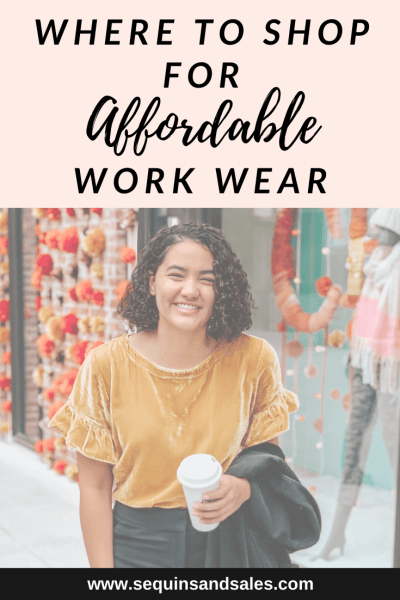 Where to Shop for an Affordable Business Casual Wardrobe