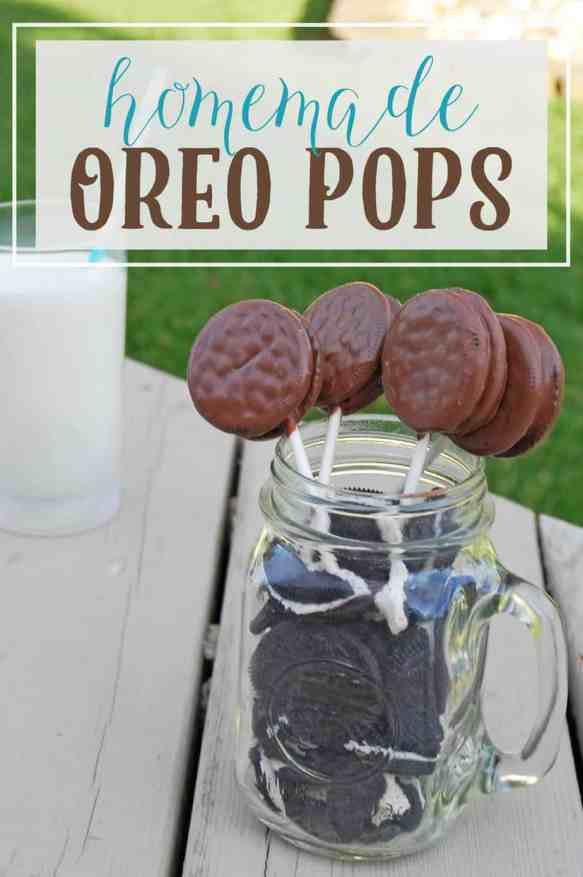3 Oreo Pops with Text