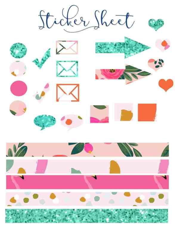 Sticket Sheet