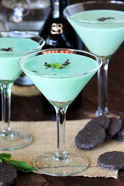 Thin Mint Cocktail