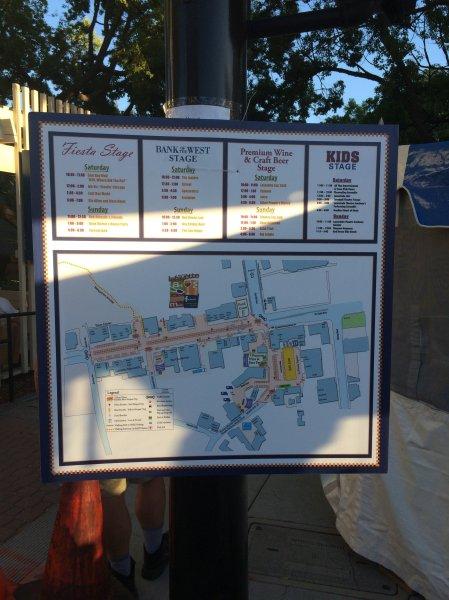 Fesitval Signage Art & Wine In Lafayette