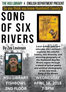 Song of Six Rivers Release Flyer